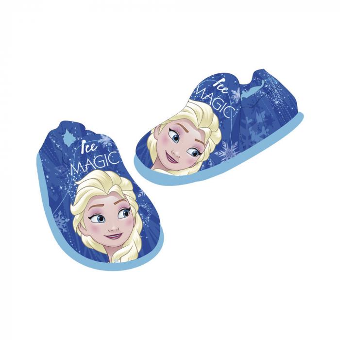 Pantofi interior Frozen albastru M28 2