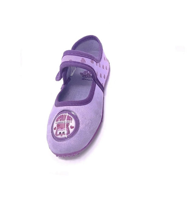 Pantofi interior mov Dizzy Super Wings M28 1