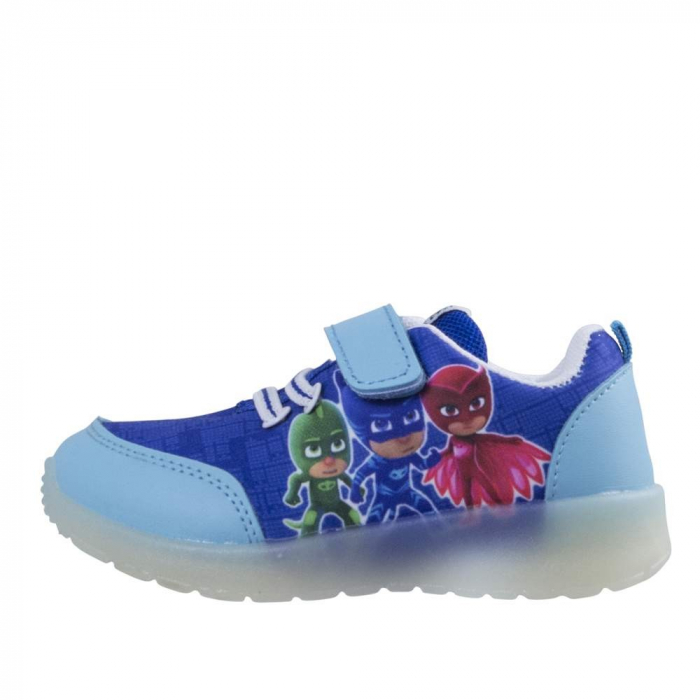 Pantofi sport PJ Masks cu LED, albastru 30 3