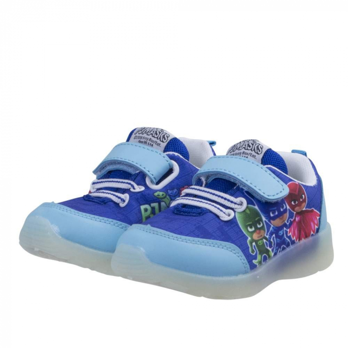 Pantofi sport PJ Masks cu LED, albastru 30 0