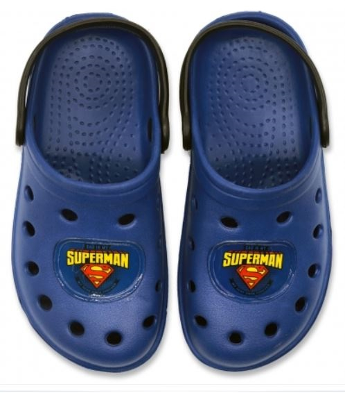 Papuci plaja clogs eva Superman 0