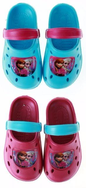 Papuci plaja clogs eva Frozen [0]