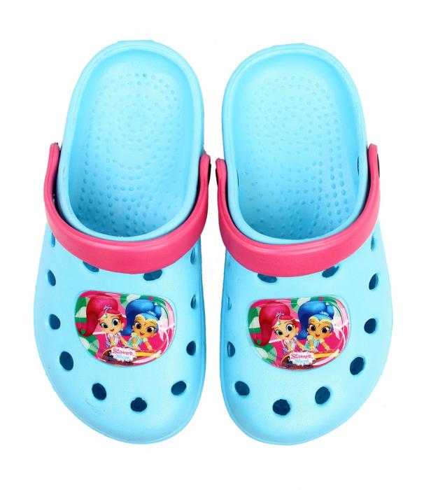 Papuci plaja clogs eva Shimmer Shine 0