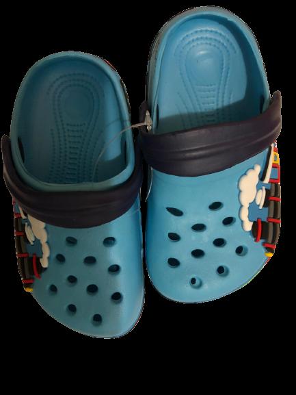 Papuci plaja clogs eva Tren, bleu [2]