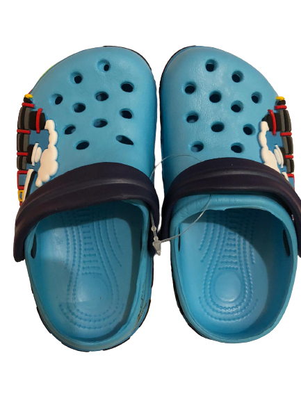 Papuci plaja clogs eva Tren, bleu [0]