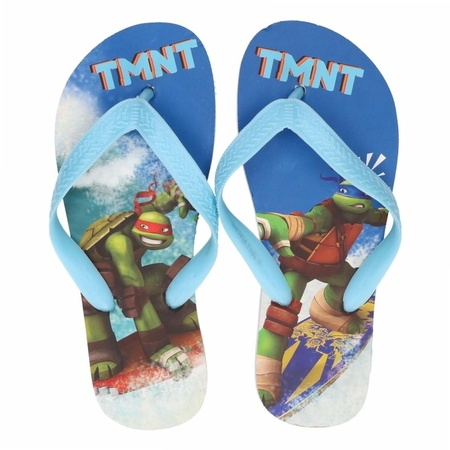 Papuci slapi flip flop Testoasele Ninja 0