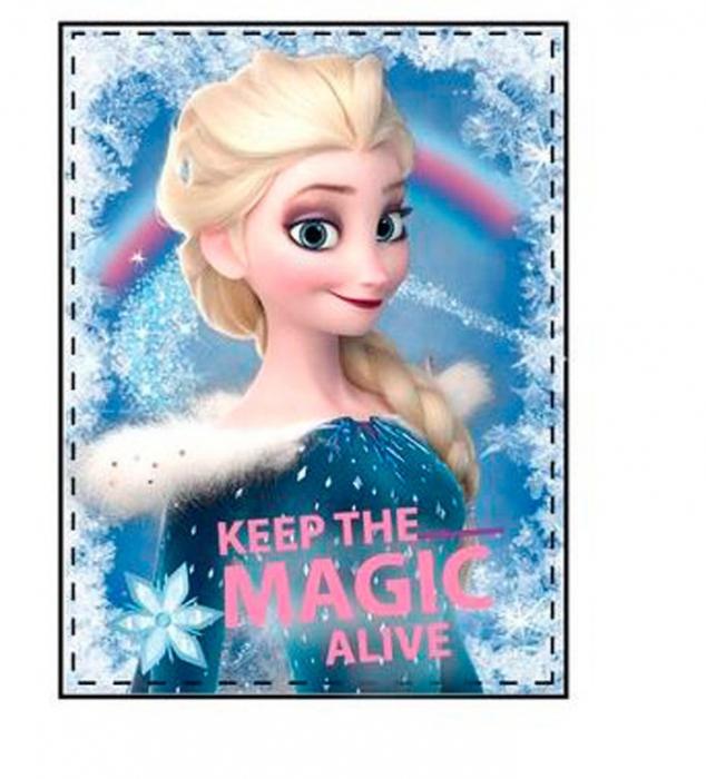Patura Frozen Elsa Magic cocolino 80x120 cm 0