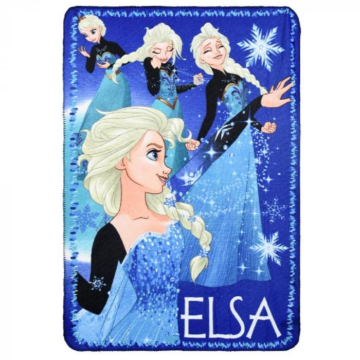 Patura Frozen Elsa Night 100 x 150 cm 0