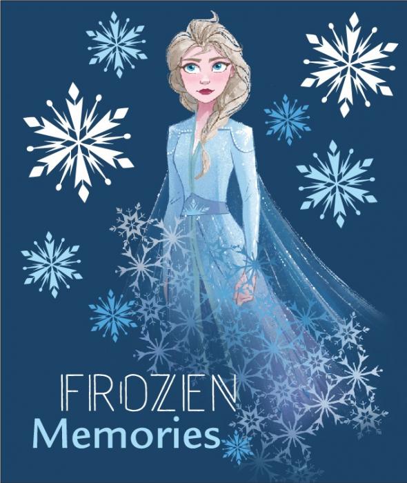 Patura polar Frozen Elsa Memories 120x140 cm [0]