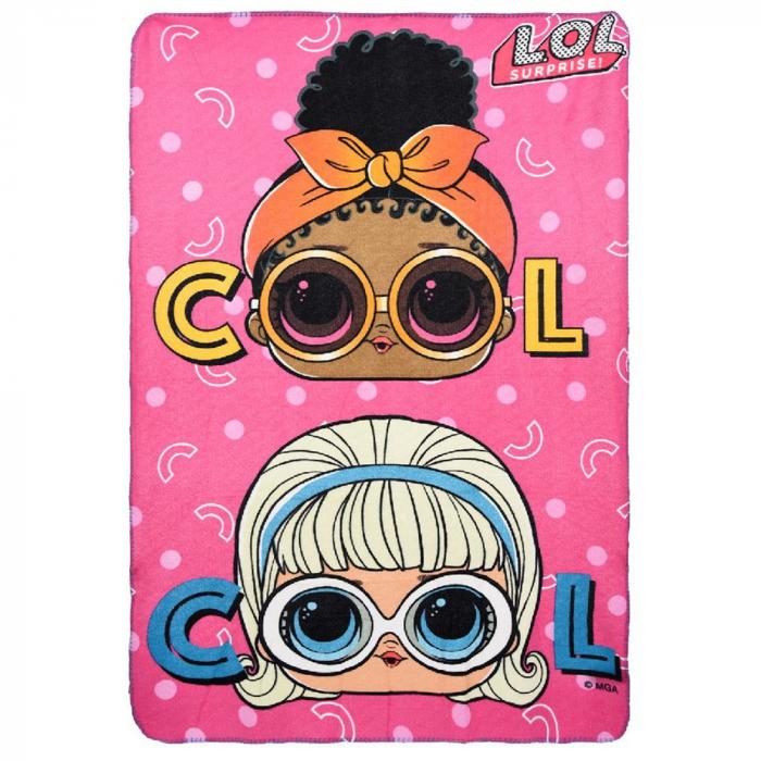"Patura polar LOL ""Cool"" 100x150 cm [0]"