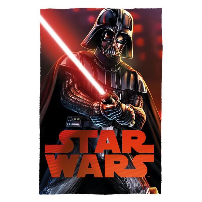 Patura Star Wars rosu 100 x 150 cm 0