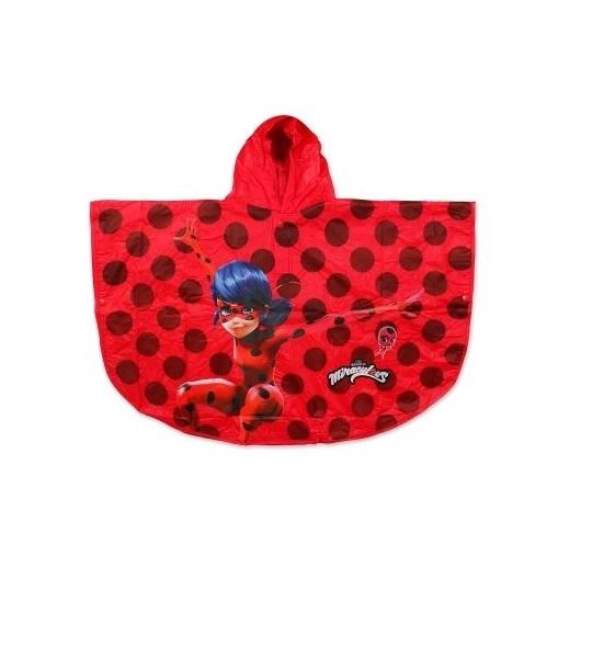 Pelerina ploaie Lady Bug ,PVC, rosu 10 ani 0