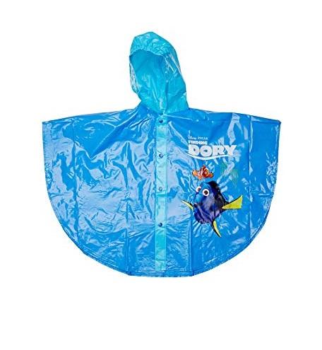 Pelerina poncho ploaie Dory, PVC,albastru,4 ani 0