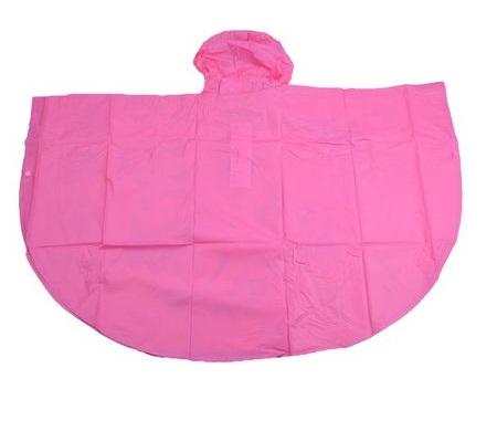 Pelerina poncho ploaie Paw Patrol, PVC, roz 5-6 ani 4