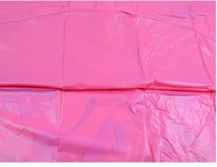 Pelerina poncho ploaie Paw Patrol, PVC, roz 7-8 ani 3