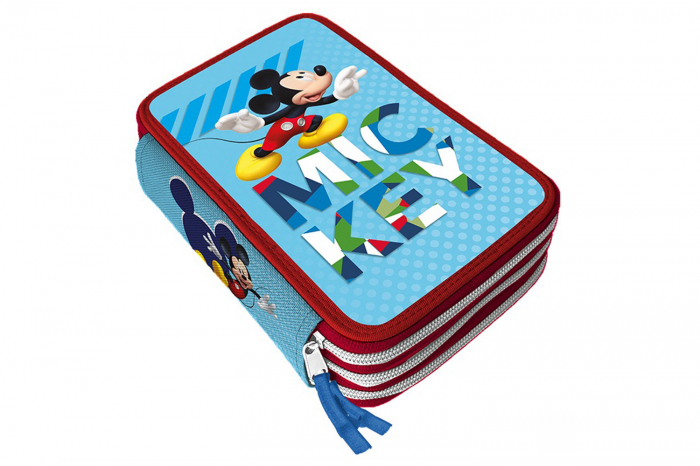 Penar Mickey Mouse Giotto triplu echipat 44 piese 0