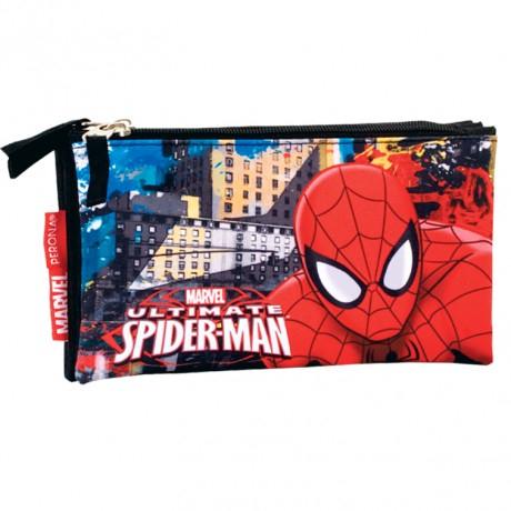 Penar, Spiderman, 3 compartimente, 22x12x3,5cm [0]