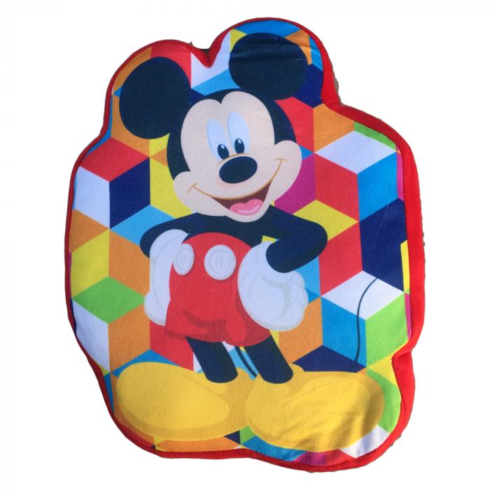 Perna catifea Mickey Mouse 35x22 cm 0