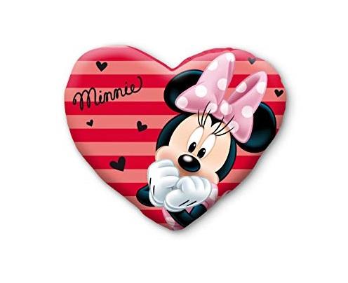 Perna catifea Minnie inima 37x30x5 cm 0