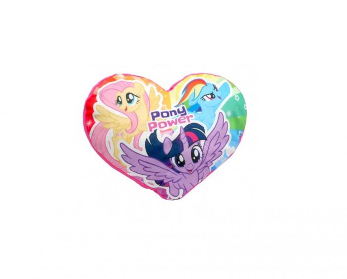 Perna catifea My Little Pony inima 40x35 cm 0