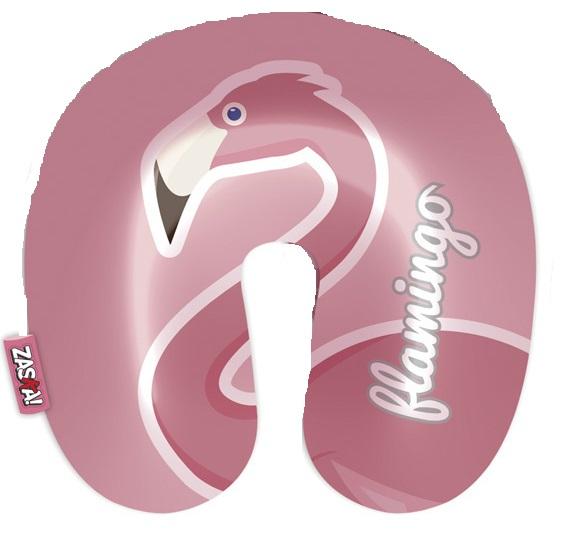 """Perna de gat pentru calatorii """"Flamingo"""" 2 fete 0"""
