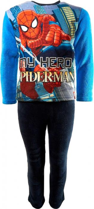 Pijama cocolino Spiderman bleu, 8 ani, 128 cm 0