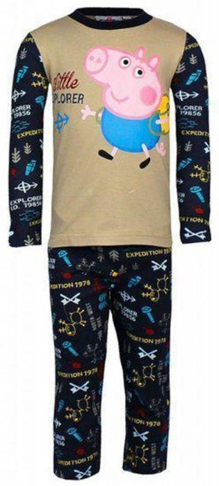 Pijama George-Peppa Pig, Little Explorer 0
