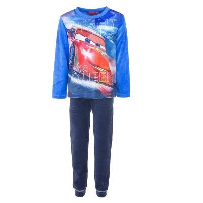 Pijama maneca Cars,albastru,98cm,3 ani 0