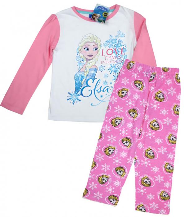 Pijama maneca lunga bumbac Frozen [2]