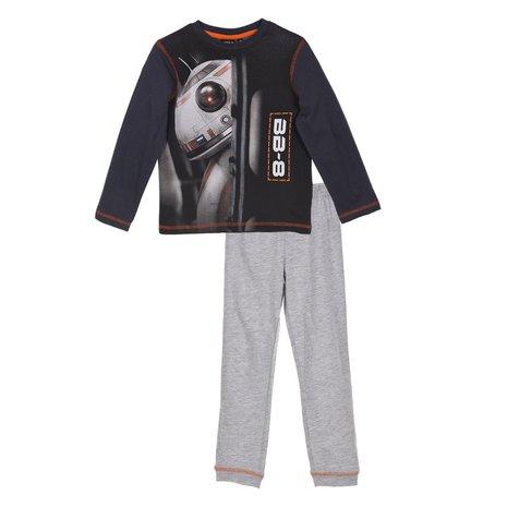Pijama maneca Star Wars, gri, 104 0