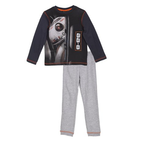 Pijama maneca Star Wars, gri, 116 0