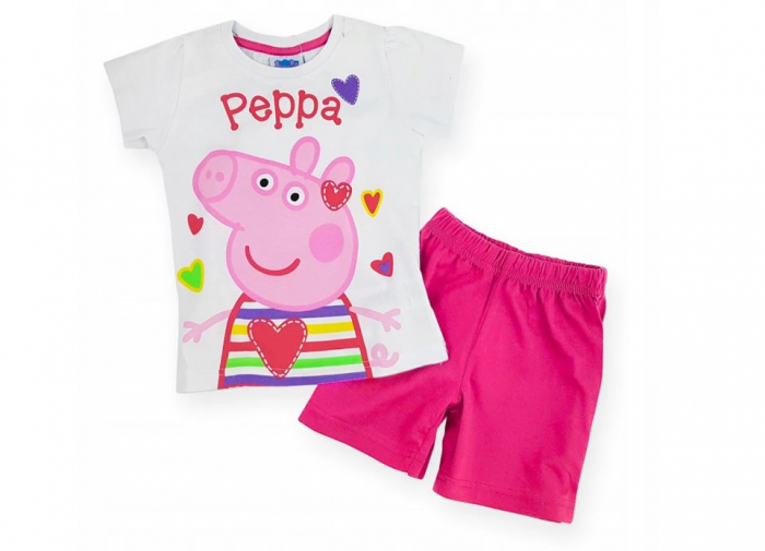Pijama Peppa Pig Hearts 0