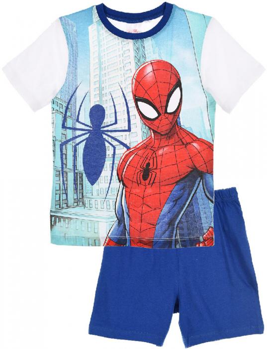 Pijama Spiderman maneca scurta 0
