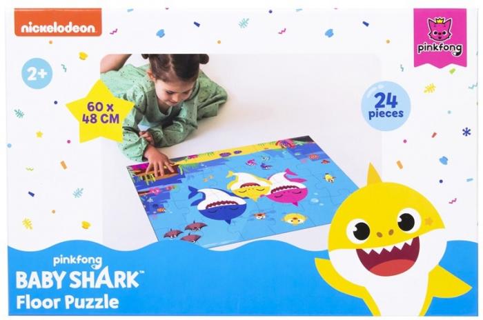 Puzzle de podea Baby Shark, 24 piese 0