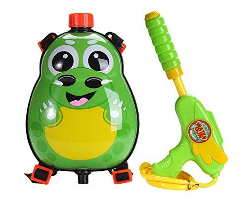 Pistol apa cu rezervor dragon verde 0
