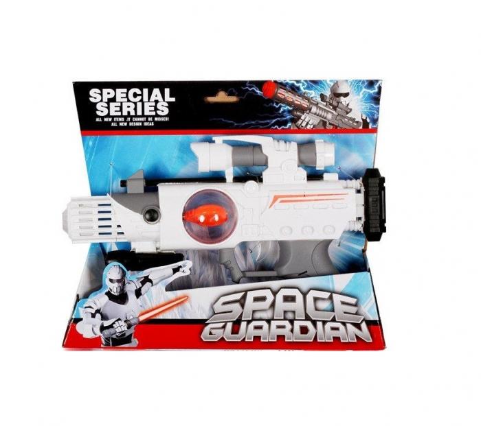 Pistol spatial cu sunet si lumini Mega Creative 28x22x5 cm 1