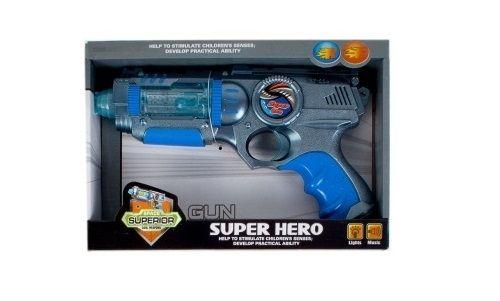 Pistol super hero albastru [0]
