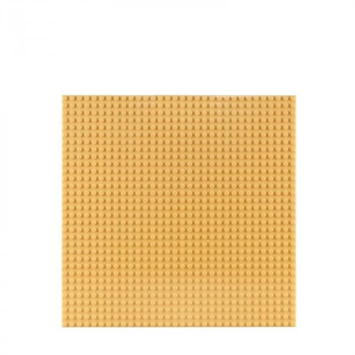 Placa de baza pentru seturi de constructii 26X32 cm galben 0