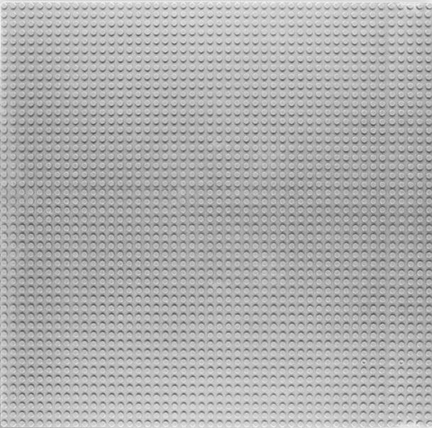 Placa de baza pentru seturi de constructii 26X32 cm gri 0