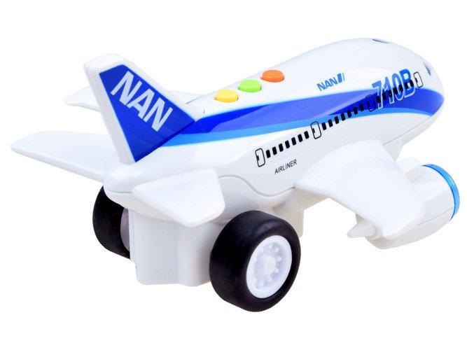 Avion city cu sunet si lumini 19.5x19x11 cm 1