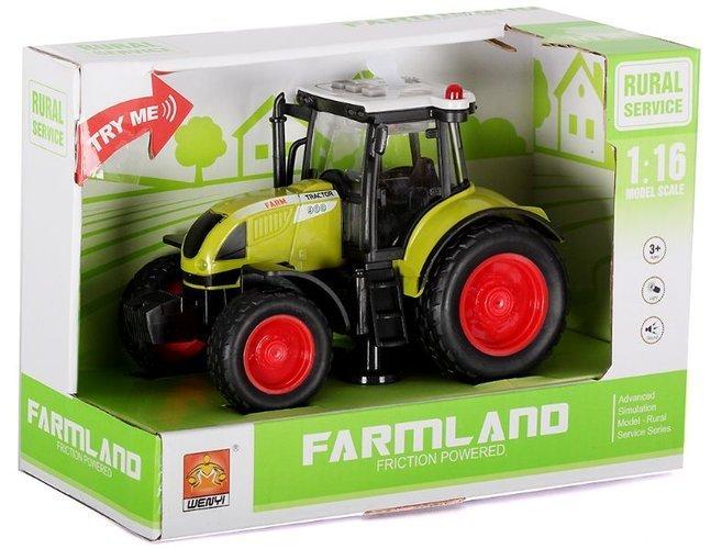 Tractor Farmland verde 1:16 2
