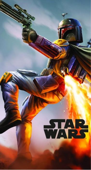 Prosop maini Star Wars multicolor 35x65 cm 0