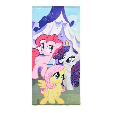 Prosop My Little Pony, 3 ponei,roz, 70 X 140 CM microfibra 0