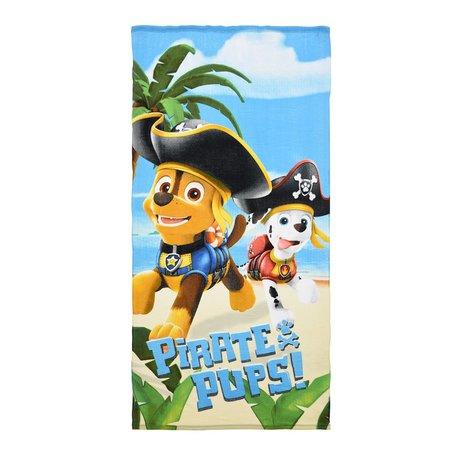Prosop Paw Patrol Pirate Pups 70 X 140 CM poliester 0