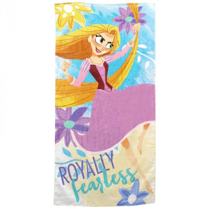 Prosop plaja bumbac Rapunzel 140x70 cm 0