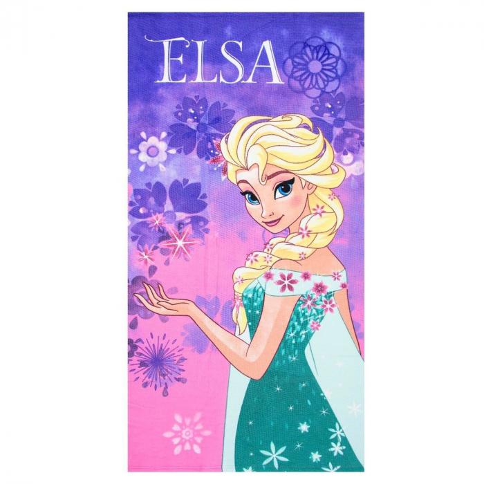 Prosop plaja Frozen Elsa 70 X 140 CM [0]