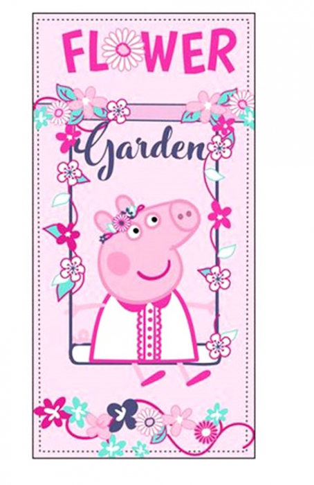 Prosop plaja Peppa Pig Garden [0]