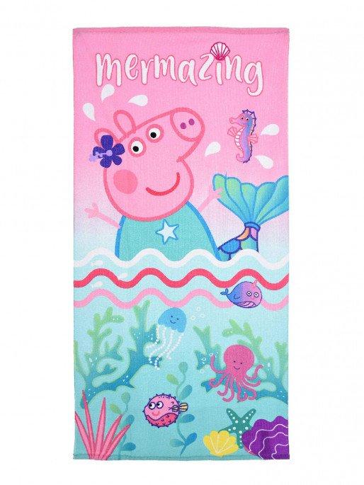 Prosop plaja Peppa Pig Mermaid [0]