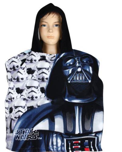 Prosop poncho cu gluga Star Wars 55 X 110 cm 1