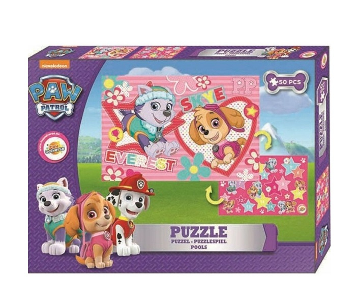 Puzzle Paw Patrol, Everest si Skye, 50 piese 0